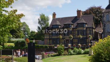 Castle Gates House Opposite Shrewsbury Library, UK