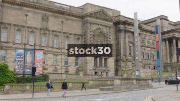 Museum Of Liverpool Wide Shot, UK