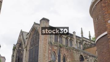St Mary's Church In Shrewsbury, UK