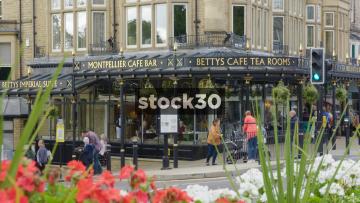 Betty's Cafe Tea Rooms In Harrogate, UK