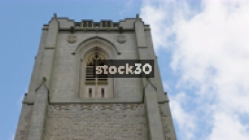 Timelapse Of Clouds Passing St.Peter's Church In Harrogate, UK