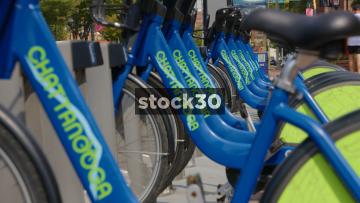 Chattanooga Bike Rental Scheme Cycles, Tennessee, USA
