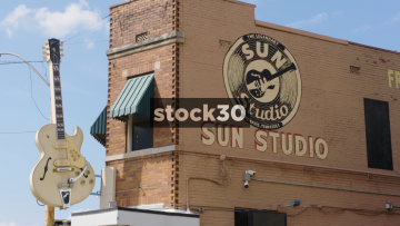 Sun Studio In Memphis, Tennessee, Close Up Detail, USA