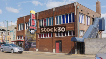 BB King's Blues Club On Beal Street In Memphis, Tennessee, USA