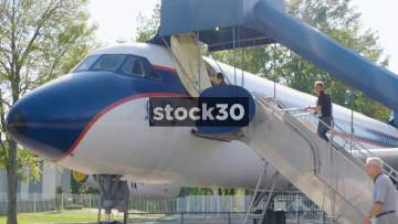 Lisa Marie Presley Convair 880 Plane At Elvis Presley's Graceland In Memphis, Tennessee, USA
