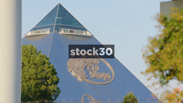 Bass Pro Shops Pyramid In Memphis, Tennessee, USA