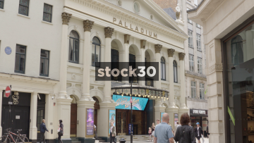 The London Palladium Theatre In London, UK