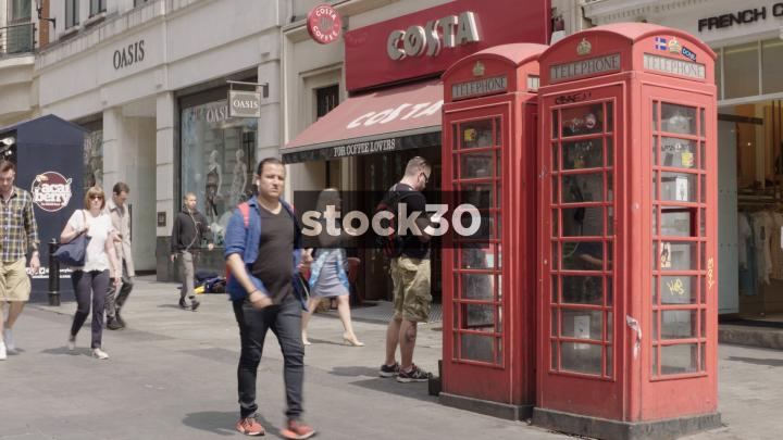 Costa Coffee On Argyll Street In London Uk Stock30