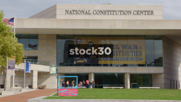 The National Constitution Center In Philadelphia, Pennsylvania, USA