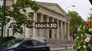 Second Bank Portrait Gallery In Philadelphia, Pennsylvania, USA