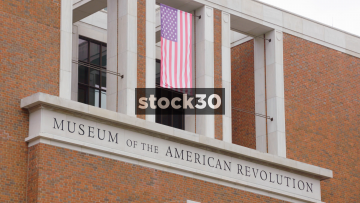 Museum Of The American Revolution In Philadelphia, Pennsylvania, Close Up, USA