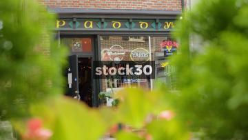 Paddy's Old City Pub On Race Street, Philadelphia, Pennsylvania, USA