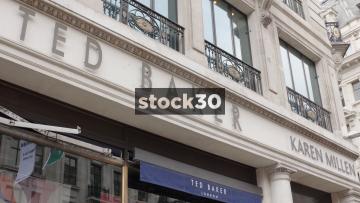 Ted Baker On Regent Street In London, UK