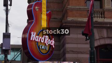 Hard Rock Cafe In Philadelphia, Pennsylvania, USA