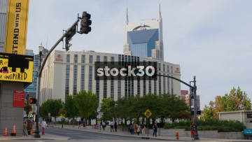 AT&T Building In Nashville, Tennessee, USA