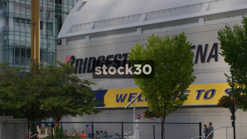 Bridgestone Arena In Nashville, Tennessee, USA