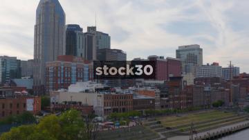 City Skyline In Nashville, Tennessee, USA
