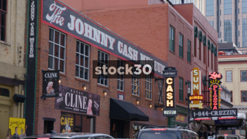 The Johnny Cash Museum In Nashville, Tennessee, USA