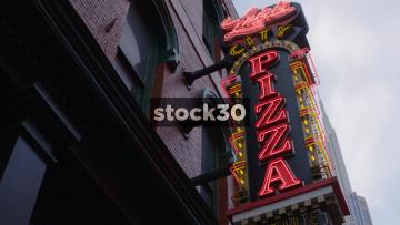 Luigi's City Pizza In Nashville, Tennessee, USA