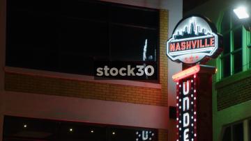 2 Nashville Signs In Nashville, Tennessee, USA