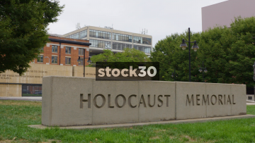 Holocaust Memorial In Baltimore, Maryland, USA