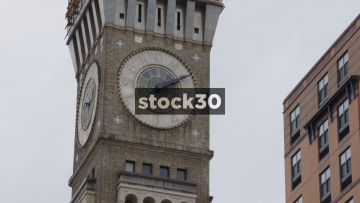 Bromo Seltzer Clock Tower In Baltimore, Maryland, USA