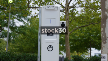EV Institute Electric Vehicle Charger In Baltimore, Maryland, USA