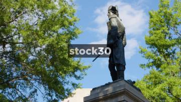 Statue Of General Tadeusz Kościuszko In Lafayette Square, Washington DC, USA