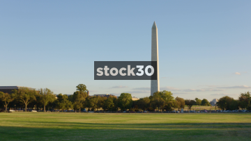 The Washington Monument In Washington DC, Zoom In, USA