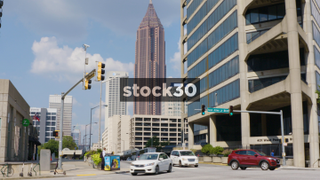 Bank Of America Plaza Building In Atlanta, Georgia, USA