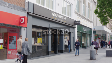 Goldsmiths Jewellers On Church Street In Liverpool, UK