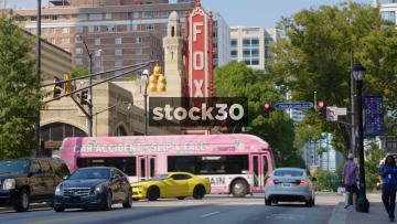 Fox Theatre In Atlanta, Georgia, USA