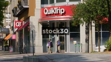 QuikTrip Store In Atlanta, Georgia, USA