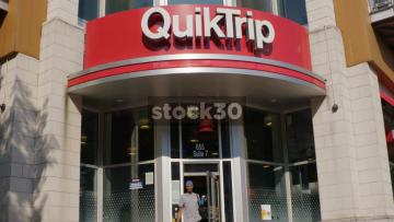 Quiktrip Store In Atlanta, Georgia, Two Shots, USA