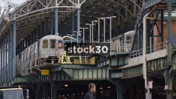 Coney Island Stilwell Avenue Station, Brooklyn, New York, USA