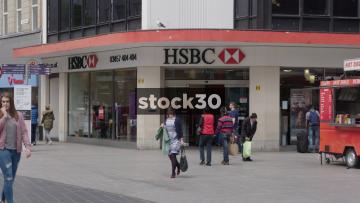 HSBC On Church Street In Liverpool, UK