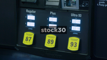 Self Pay Gas, Petrol Pump, 3 Shots, USA