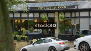 Betty's Cafe Tea Rooms In Harrogate, Two Shots, UK