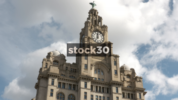 Liver Building, Liver Bird, Liverpool, UK