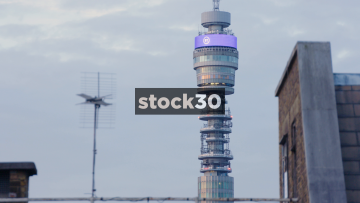 BT Tower In London, UK