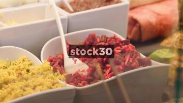 Food Ingredients In Deli Counter