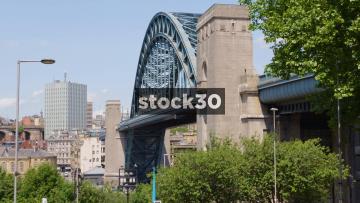 The Tyne Bridge In Newcastle Upon Tyne, UK
