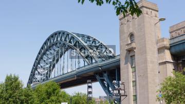 View Of The Tyne Bridge In Newcastle Upon Tyne, UK