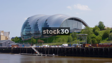 Sage Gateshead Concert Venue In Newcastle Upon Tyne, Zoom In, UK