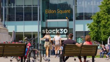 Intu Eldon Square Shopping Centre In Newcastle Upon Tyne, UK