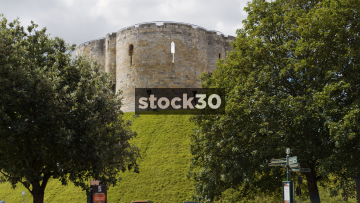 Clifford's Tower In York, UK