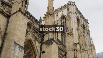York Minster Cathedral, 3 Close Up Shots, UK