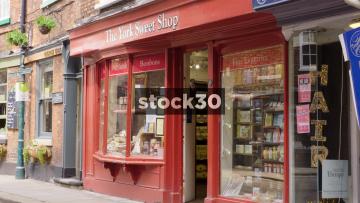 The York Sweet Shop In York, UK
