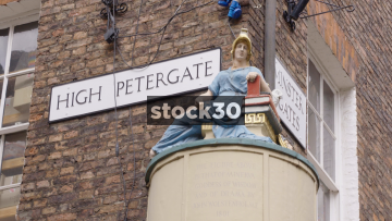 Street Signs In York, UK