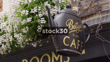Betty's Cafe Tea Rooms In York, UK